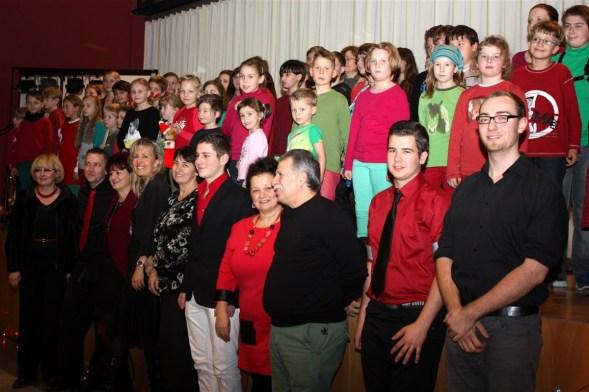Weihnachtskonzert Lehrer und Schüler
